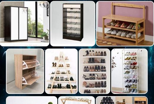 shoe rack model screenshot 4