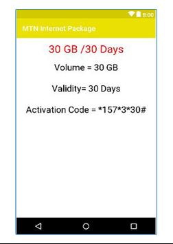 MTN Internet Package for Android - APK Download