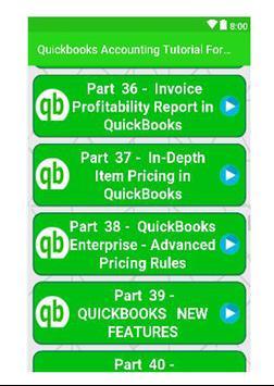 Quickbooks Accounting Tutorial For Beginners screenshot 2