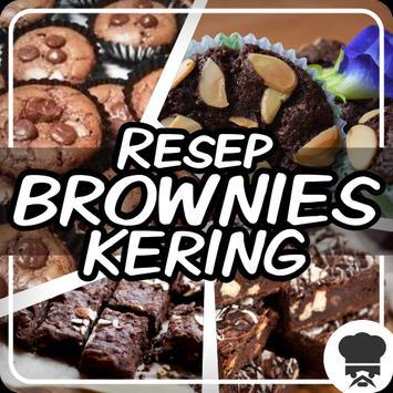 Resep Brownies Kering poster