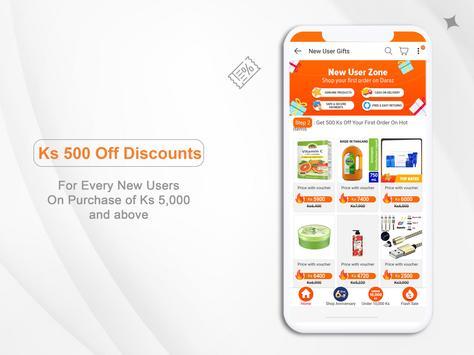 Online Shopping App In Myanmar - Shop.com.mm स्क्रीनशॉट 9