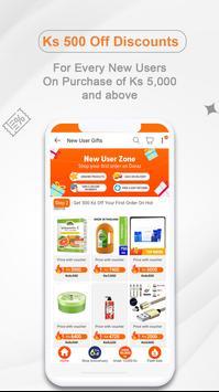Online Shopping App In Myanmar - Shop.com.mm स्क्रीनशॉट 3