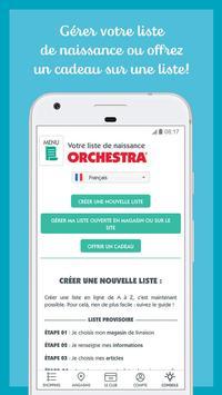 ORCHESTRA mode et puériculture screenshot 7