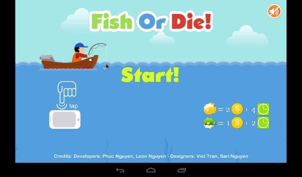 Fish Or Die! poster