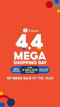 ShopeeSG 4.4 Mega Shopping Day screenshot 1