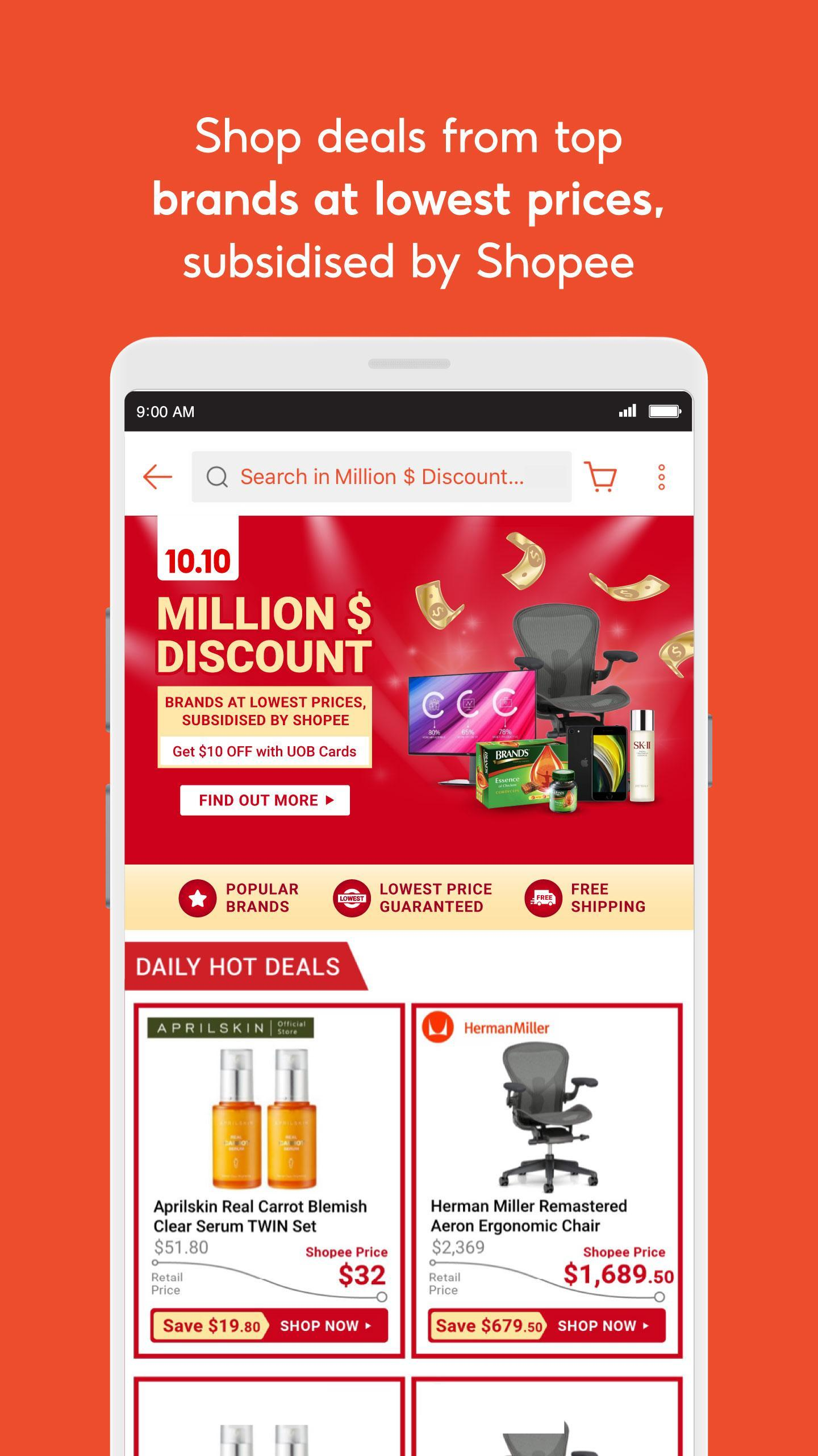 Shopeesg 10 10 Brands Festival For Android Apk Download