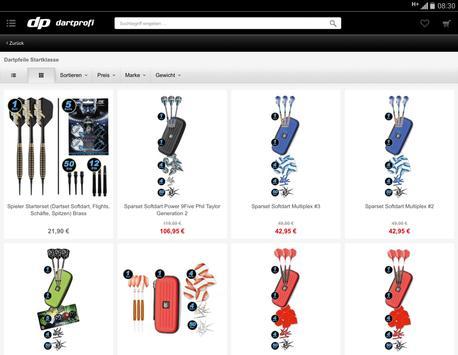 Dartprofi Shop screenshot 4