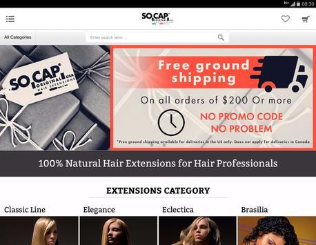 SOCAP ORIGINAL Hair Extensions screenshot 3
