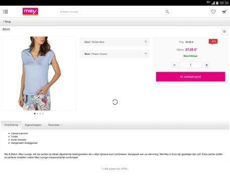 Mey NL screenshot 5