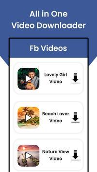 Video Downloader:TikTok-Instas-Facebook Downloader screenshot 1