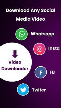 Video Downloader:TikTok-Instas-Facebook Downloader screenshot 4