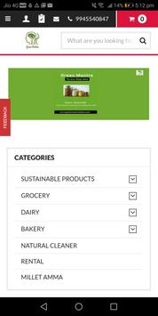Greenmantrastore screenshot 1