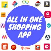All Shopping Apps - All in one Online shopping app icon