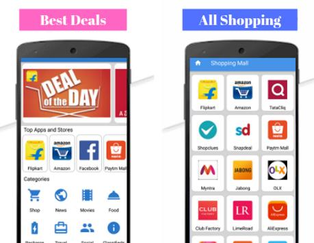 All Shopping Apps - All in one Online shopping app poster