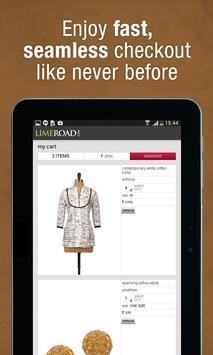 LimeRoad Online Shopping App screenshot 13