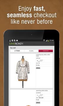 LimeRoad Online Shopping App screenshot 21