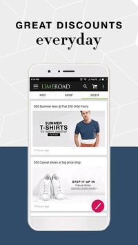 LimeRoad Online Shopping App screenshot 2