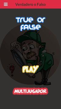 True or false poster