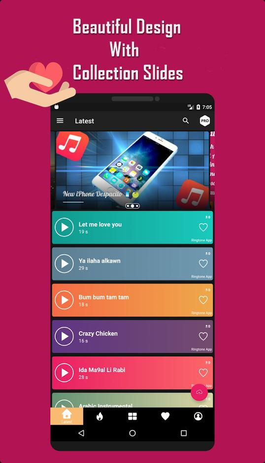 Top Ringtone App 2019 Free Ringtones For Tiktok For Android Apk Download