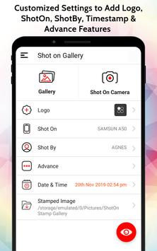 ShotOn Stamp on Gallery: Add Shot On Tag to Photos screenshot 10