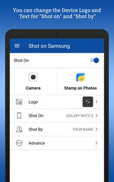 ShotOn for Samsung: Auto Add Shot on Photo Stamp Mod