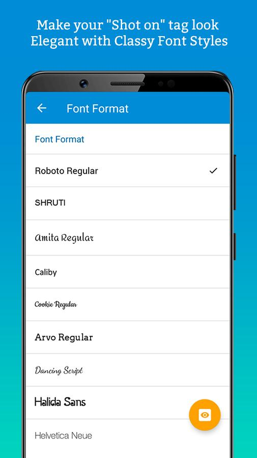 ShotOn for Vivo: Auto Add Shot on Photo Watermark for Android - APK