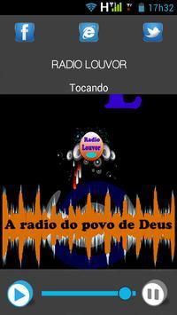 Radio Louvor screenshot 2