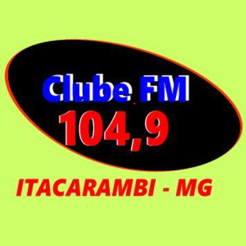 Clube FM Itacarambi 104,9 poster