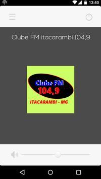 Clube FM Itacarambi 104,9 screenshot 1