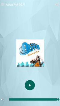 Radio Ativa FM 97,9 poster