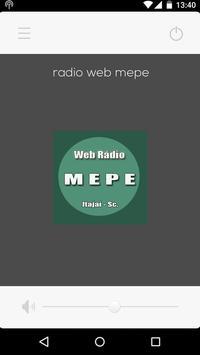 Web Rádio  Mepe Online screenshot 1