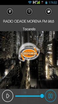 Radio Cidade Morena FM poster