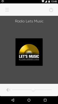Rádio Lets Music - Oficial screenshot 1