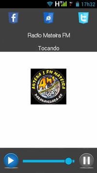 RADIO MATEIRA FM 104,9 poster
