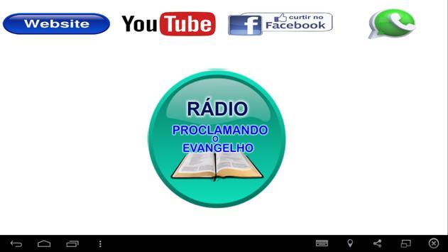 Rádio Proclamando o Evangelho screenshot 1
