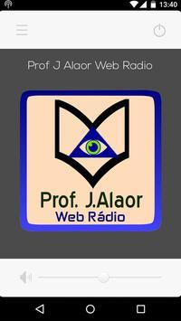 Web Rádio Prof. J.Alaor poster