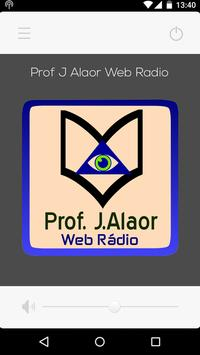 Web Rádio Prof. J.Alaor screenshot 1