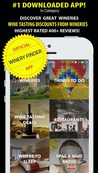 Napa Valley Winery Finder Affiche