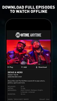 Showtime Anytime screenshot 3