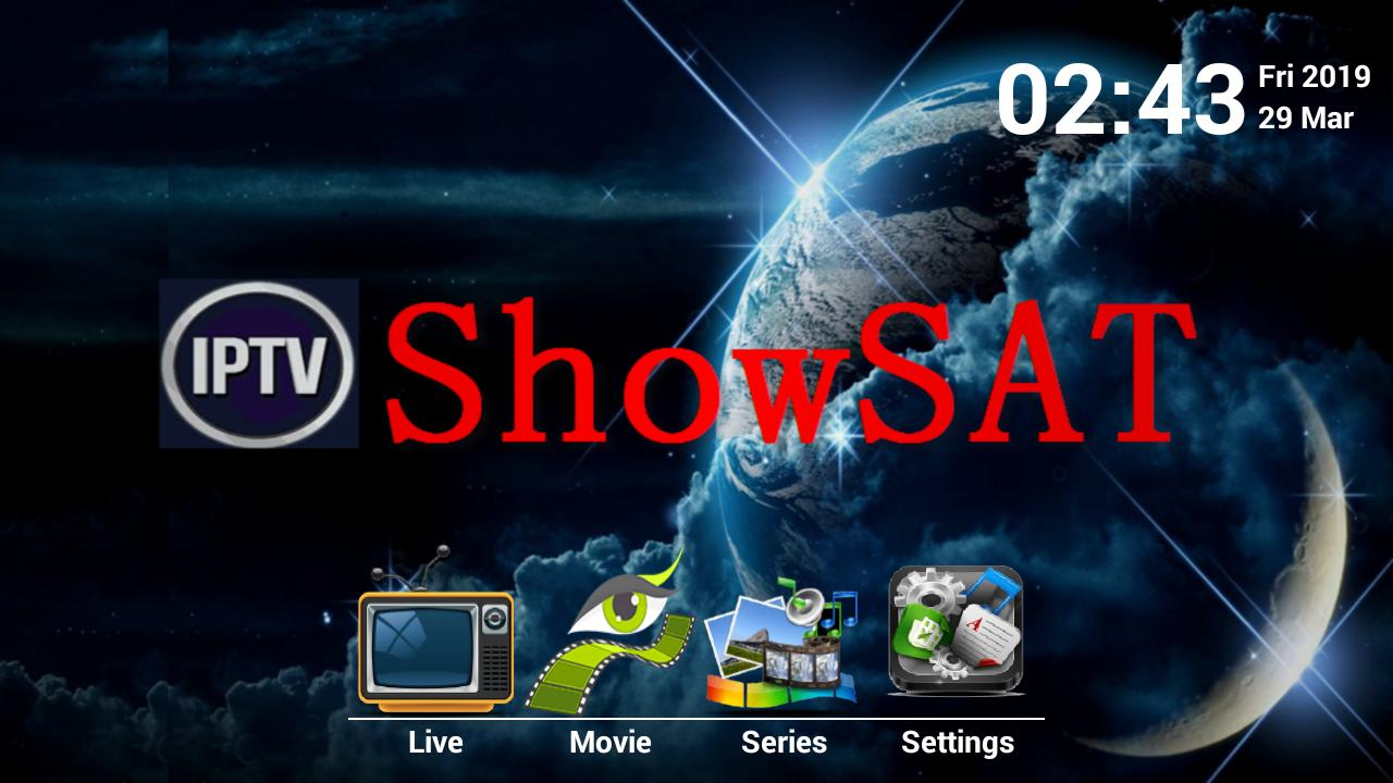 SHOWSAT IPTV Active Code for Android - APK Download