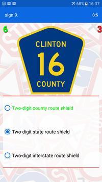 Trafic and road signs screenshot 14
