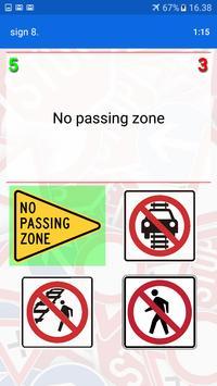Trafic and road signs screenshot 15