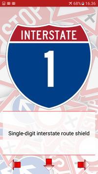 Trafic and road signs screenshot 19