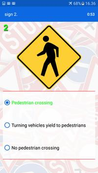 Trafic and road signs screenshot 21