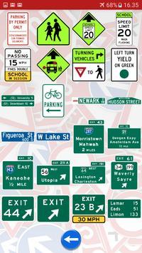 Trafic and road signs screenshot 8