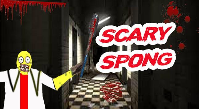 scary sponge granny : Mod horror game 2019 poster