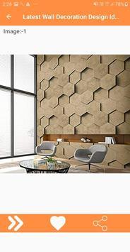 Latest Wall Decoration Design Ideas screenshot 4