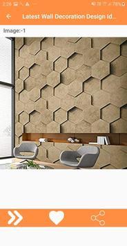 Latest Wall Decoration Design Ideas screenshot 5