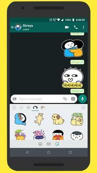 shreyadoodles Sticker Pack for WhatsApp screenshot 1