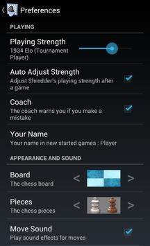 Shredder Chess screenshot 2